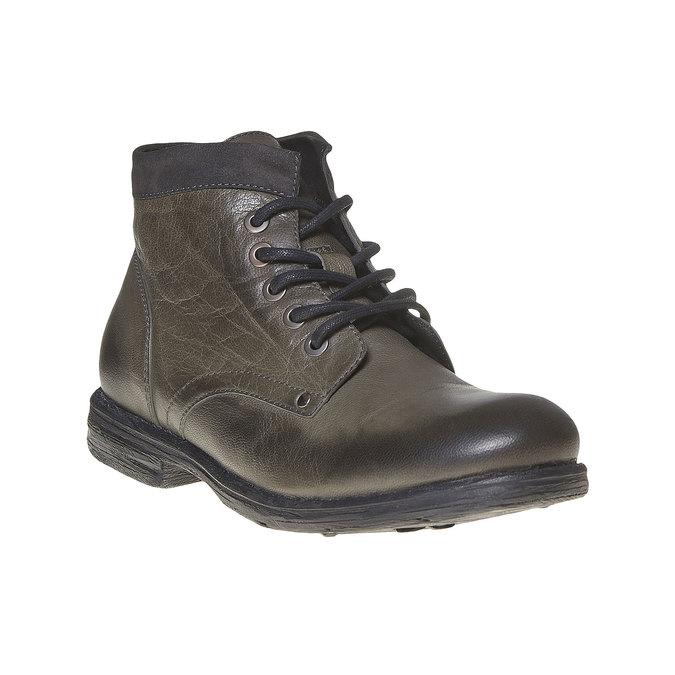 Chaussure montante en cuir pour homme bata, Gris, 894-2704 - 13