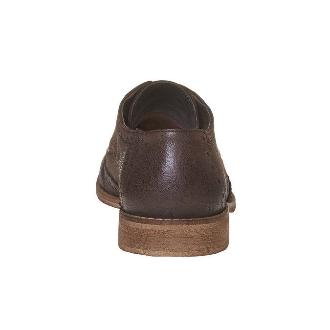 Chaussure en cuir homme bata, Brun, 824-4286 - 17