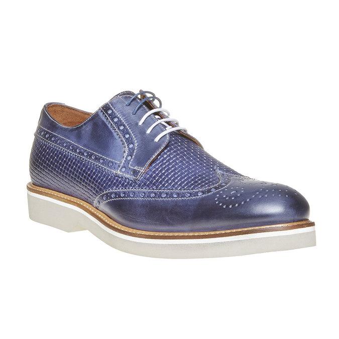 Chaussure lacée en cuir pour homme bata-the-shoemaker, Violet, 824-9302 - 13