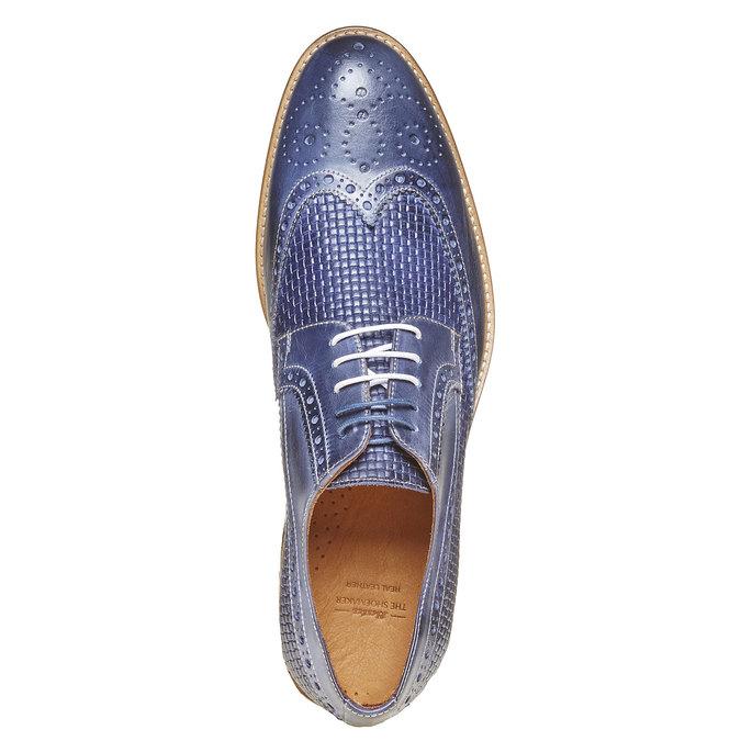 Chaussure lacée en cuir pour homme bata-the-shoemaker, Violet, 824-9302 - 19