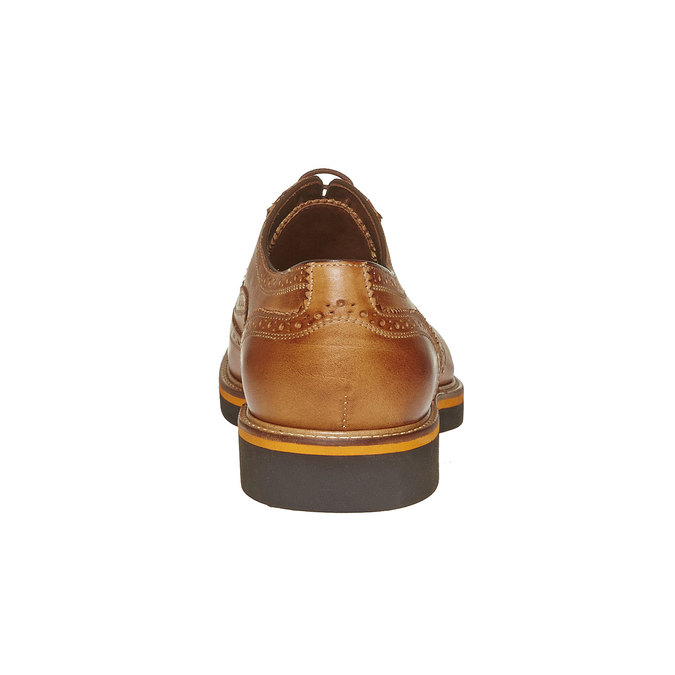 Chaussure Oxford marron bata-the-shoemaker, Jaune, 824-8776 - 17