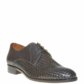 Derby homme en cuir bata-the-shoemaker, Noir, 824-6295 - 13