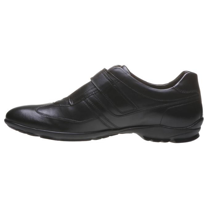 Basket en cuir pour homme bata, Noir, 814-6989 - 15