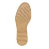 Chaussure vernie avec les motifs Brogue bata, Jaune, 521-8437 - 26