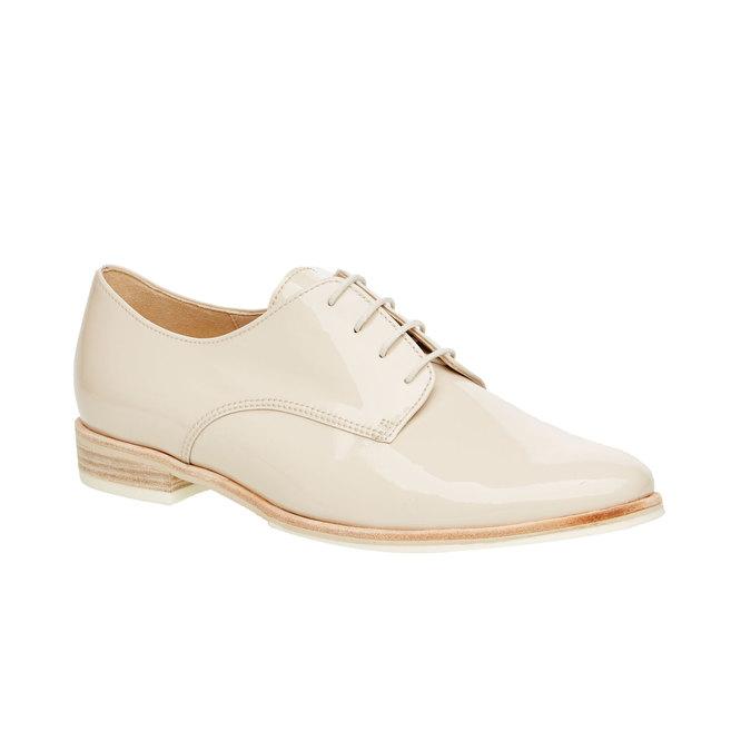 Chaussure lacée en cuir pour femme gabor, Jaune, 528-8001 - 13