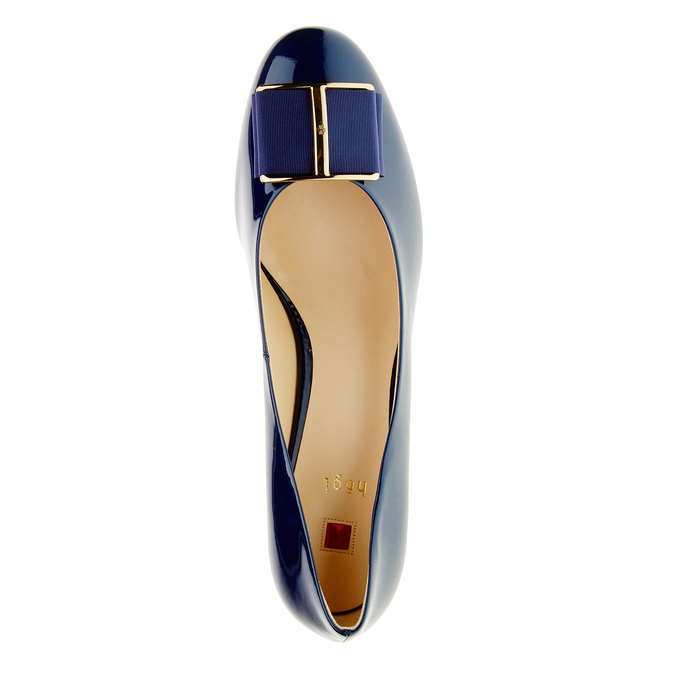 Escarpin verni femme hogl, Bleu, 728-9001 - 19