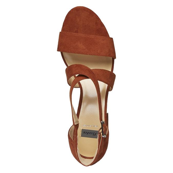 Chaussures Femme bata, Brun, 769-3317 - 19