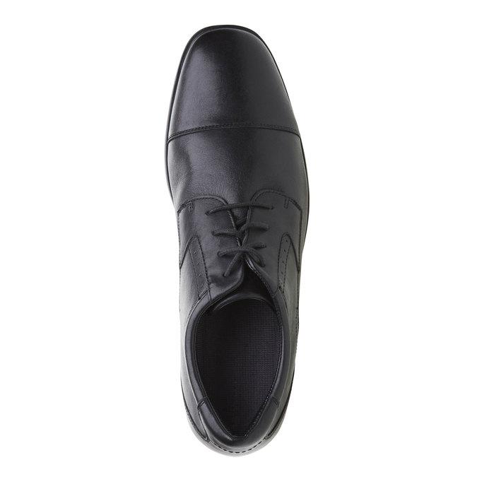 Chaussure lacée en cuir pour homme rockport, Noir, 824-6376 - 19