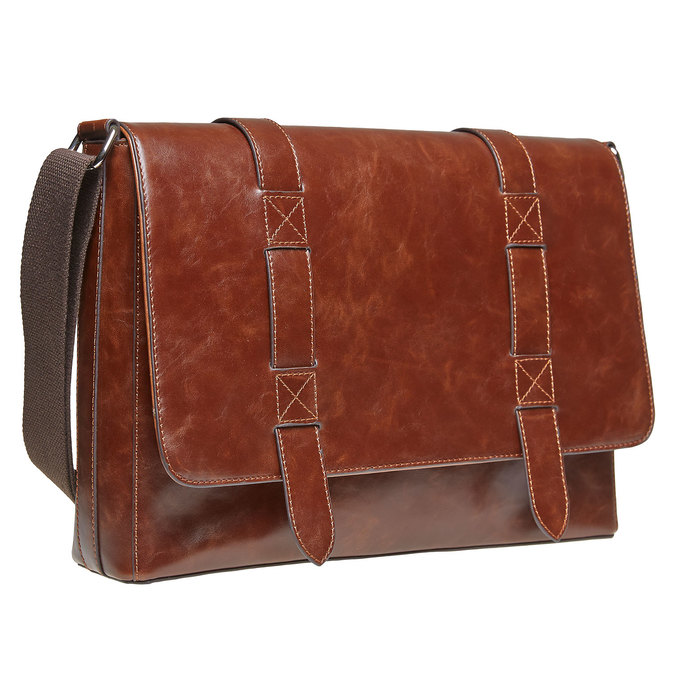Cartable homme bata, Brun, 961-4770 - 13