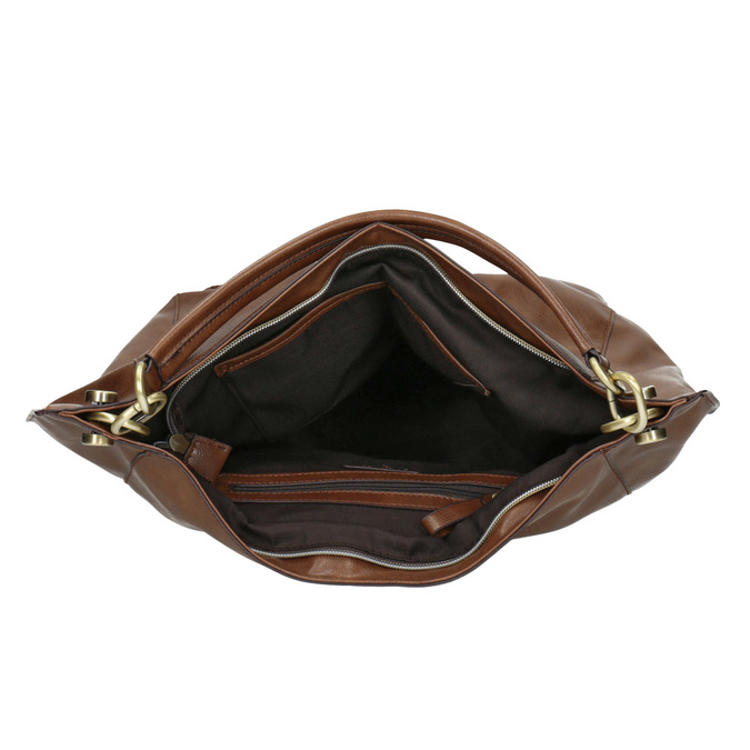 Sac Hobo marron bata, Brun, 961-3808 - 15