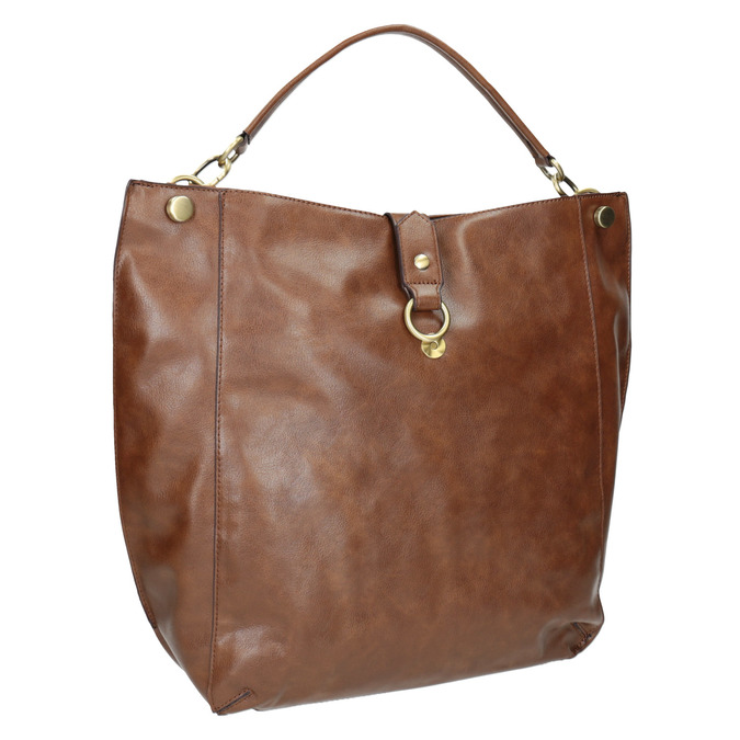 Sac Hobo marron bata, Brun, 961-3808 - 13