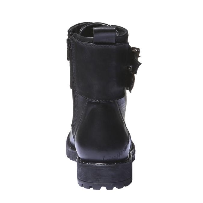 Bottes en cuir avec semelle de sentier bata, Noir, 594-6500 - 17