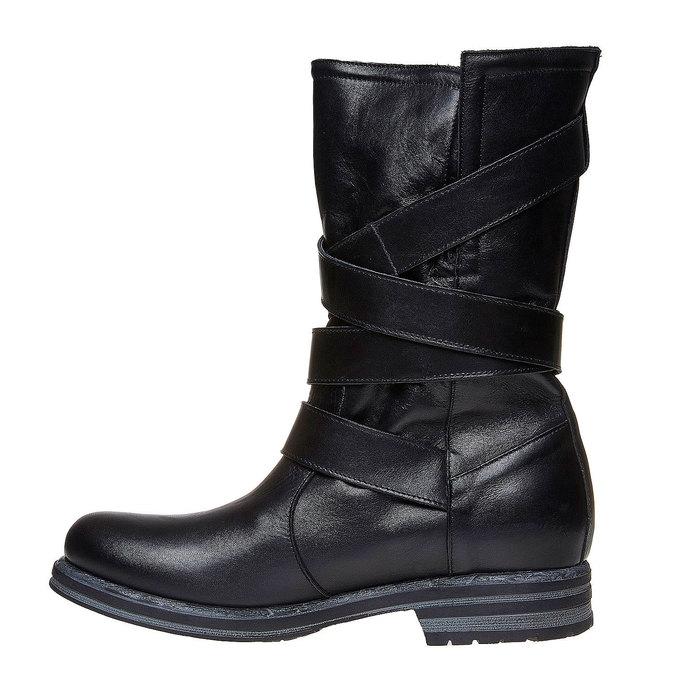 Chaussures Femme bata, Noir, 594-6103 - 19