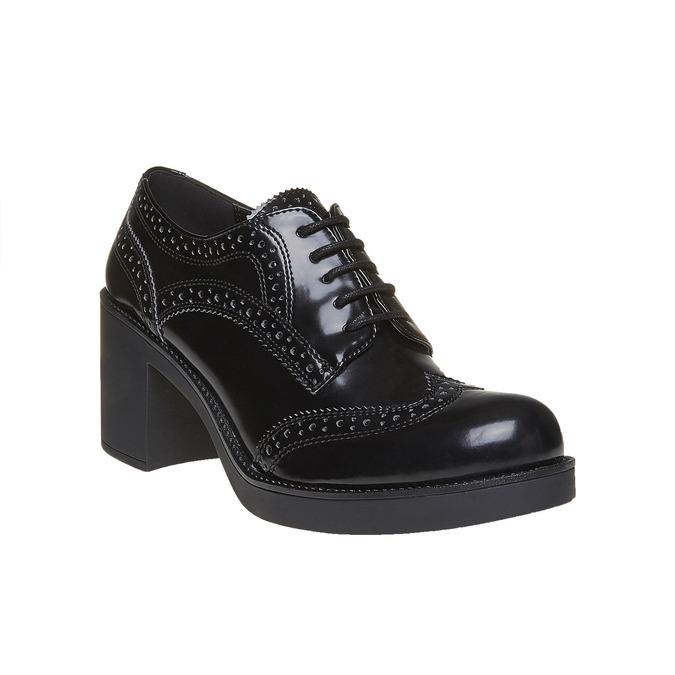 Chaussure à talon femme bata, Noir, 621-6164 - 13