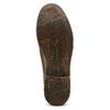 Chaussure lacée en cuir pour homme style Derby bata, Brun, 824-4429 - 17
