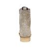Bottine en cuir à lacets bata, Gris, 593-2106 - 17