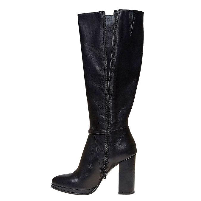 Chaussures Femme bata, Noir, 794-6534 - 19