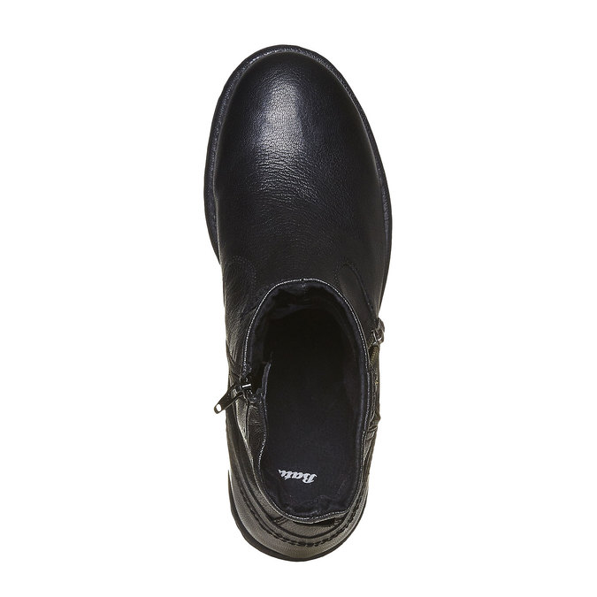 Chaussures Homme bata, Noir, 894-6311 - 19