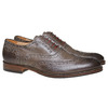 Oxford en cuir shoemaker, Gris, 824-2594 - 26