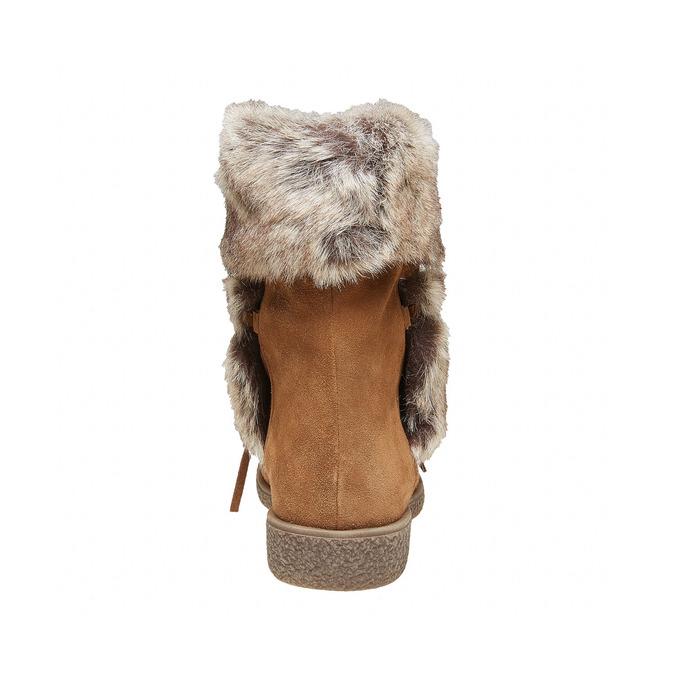 Chaussure d'hiver pour femme bata, Brun, 593-3992 - 17