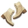 Chaussure d'hiver en cuir avec fausse fourrure weinbrenner, Jaune, 696-8168 - 19