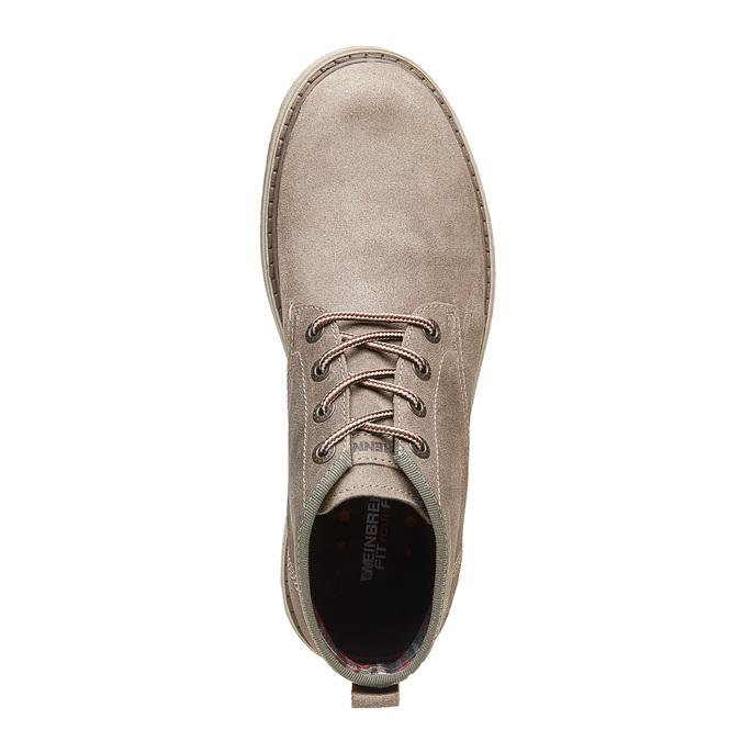 Chaussures en daim weinbrenner, Gris, 893-2113 - 19