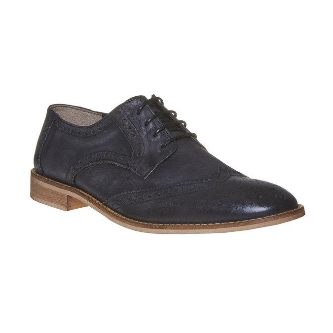 Chaussure en cuir pour homme dans le style Brogue bata, Noir, 824-6286 - 13