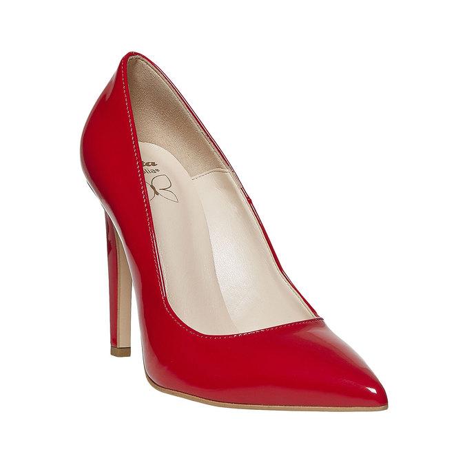 Escarpin verni femme insolia, Rouge, 721-5867 - 13