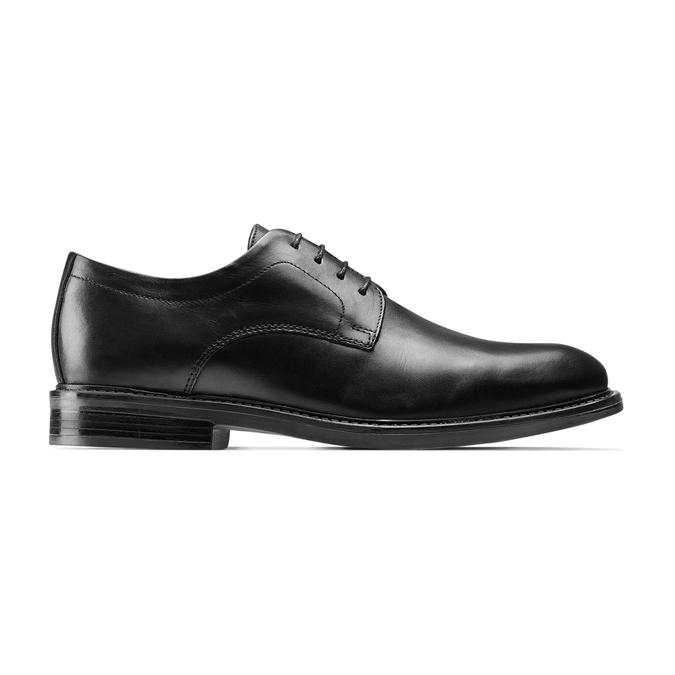 Chaussures en cuir pour hommes bata-comfit, Noir, 824-6938 - 26