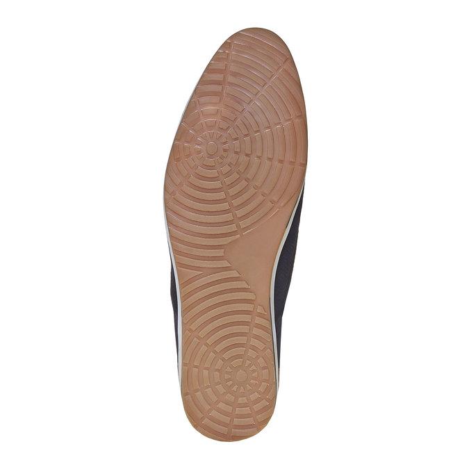 Chaussure en cuir homme bata, Violet, 823-9234 - 26