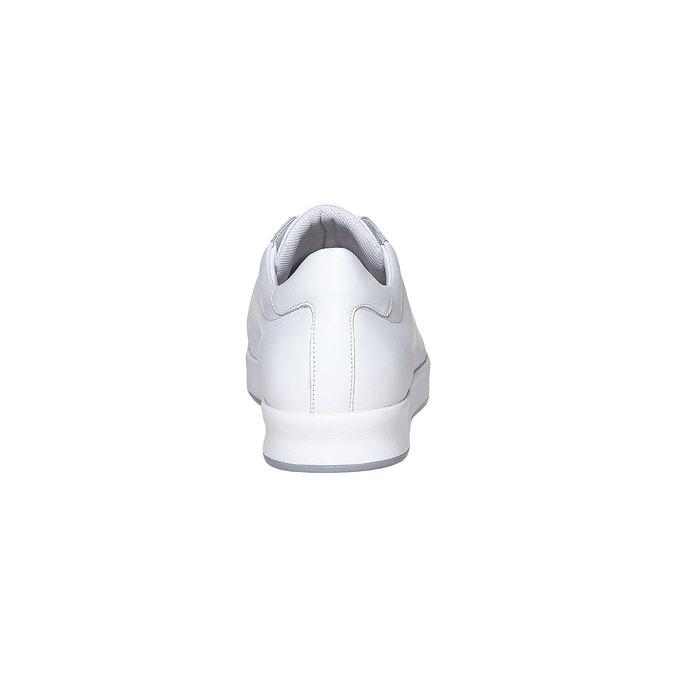 Basket blanche en cuir flexible, Blanc, 844-1705 - 17
