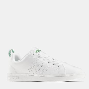 Basket blanche avec détails verts adidas, Blanc, 501-1300 - 13