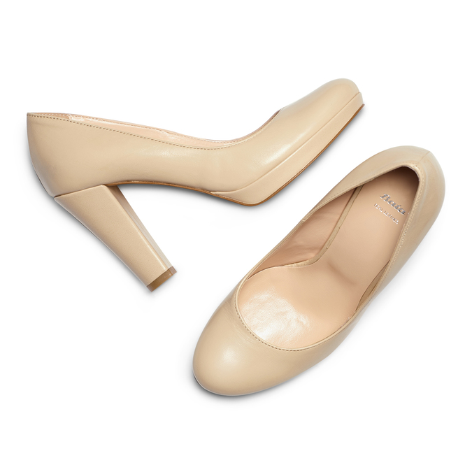 BATA Chaussures Femme bata, Beige, 724-8725 - 26