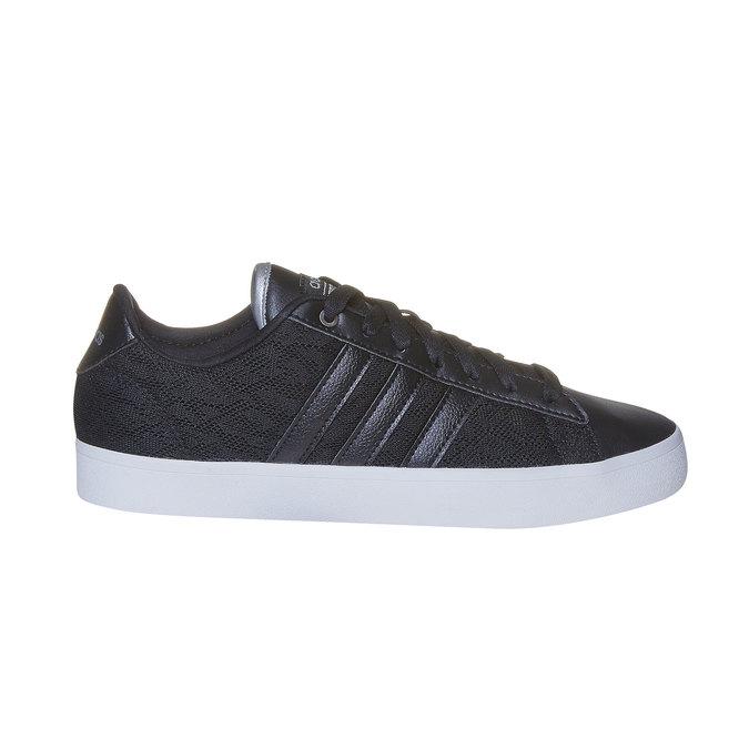 Tennis noire pour femme avec dentelle adidas, Noir, 509-6195 - 15