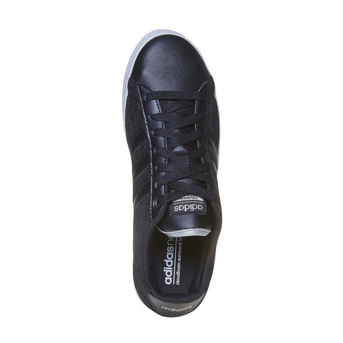 Tennis noire pour femme avec dentelle adidas, Noir, 509-6195 - 19