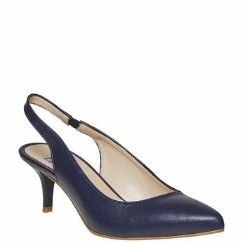 BATA Chaussures Femme bata, Bleu, 724-9677 - 13