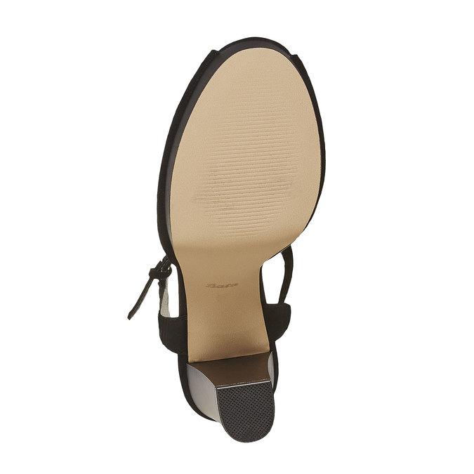 Sandale à talon femme insolia, Noir, 769-6737 - 26
