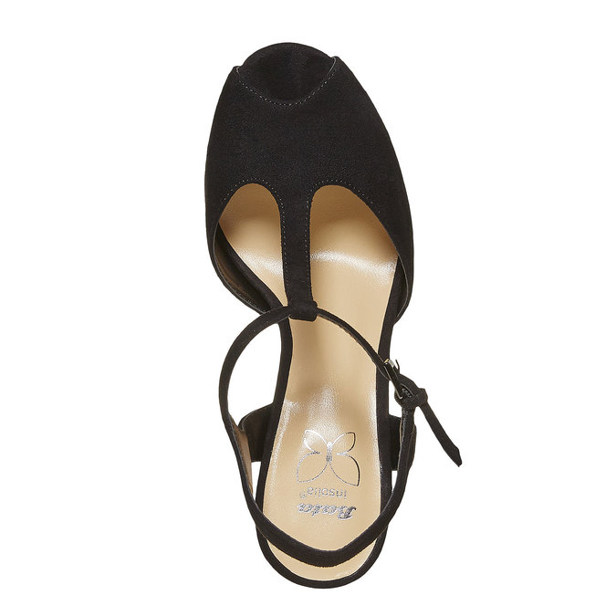Sandale à talon femme insolia, Noir, 769-6737 - 19