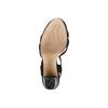 Sandale femme à talon stable insolia, Noir, 769-6700 - 19