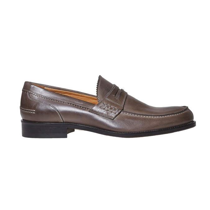 Penny Loafer en cuir bata-the-shoemaker, 814-2160 - 15