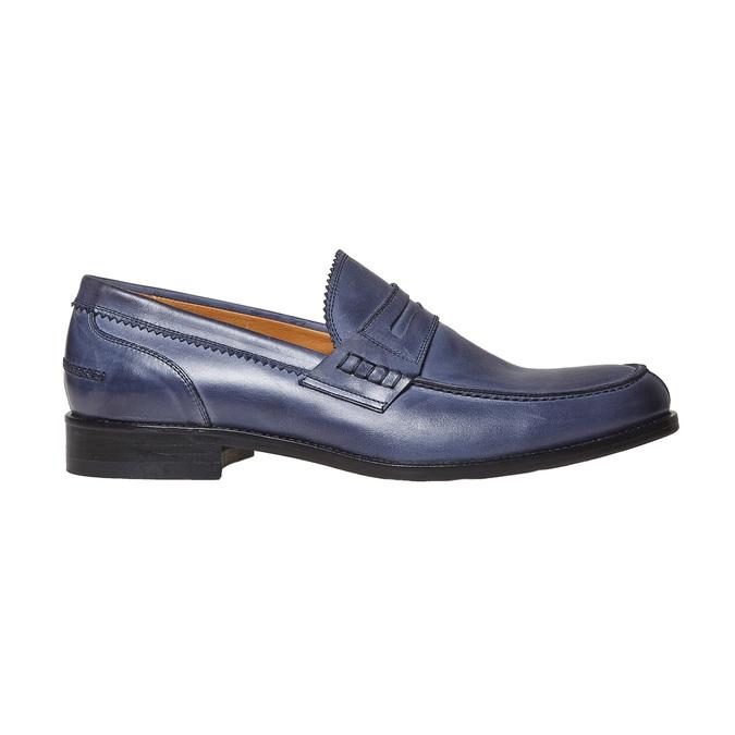 Penny Loafer en cuir bata-the-shoemaker, Violet, 814-9160 - 15