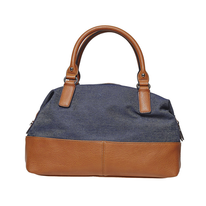 Grand sac à main femme bata, Violet, 969-9354 - 26