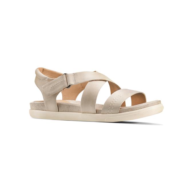 Women's shoes bata, Brun, 564-4351 - 13