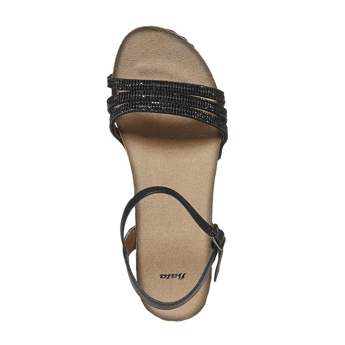 Chaussures Femme bata, Noir, 661-6213 - 19