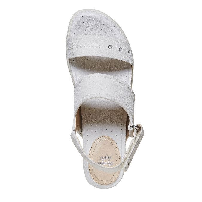 Sandale femme à semelle épaisse bata, 569-8303 - 19