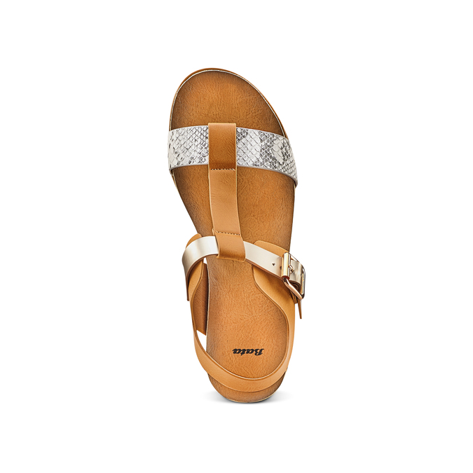 Sandale femme bata, Brun, 561-8295 - 17