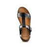 Sandale femme semelle épaisse bata, Noir, 561-6295 - 17