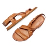Sandale en cuir pour femme bata, Brun, 564-3443 - 26