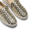 Slip-on dorée femme north-star, Jaune, 541-8324 - 19