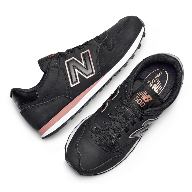 Childrens shoes new-balance, Noir, 501-6500 - 19